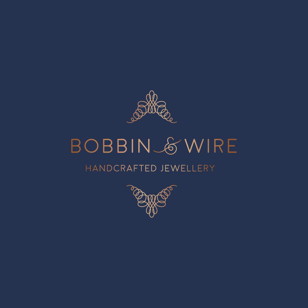 Bobbin & Wire branding
