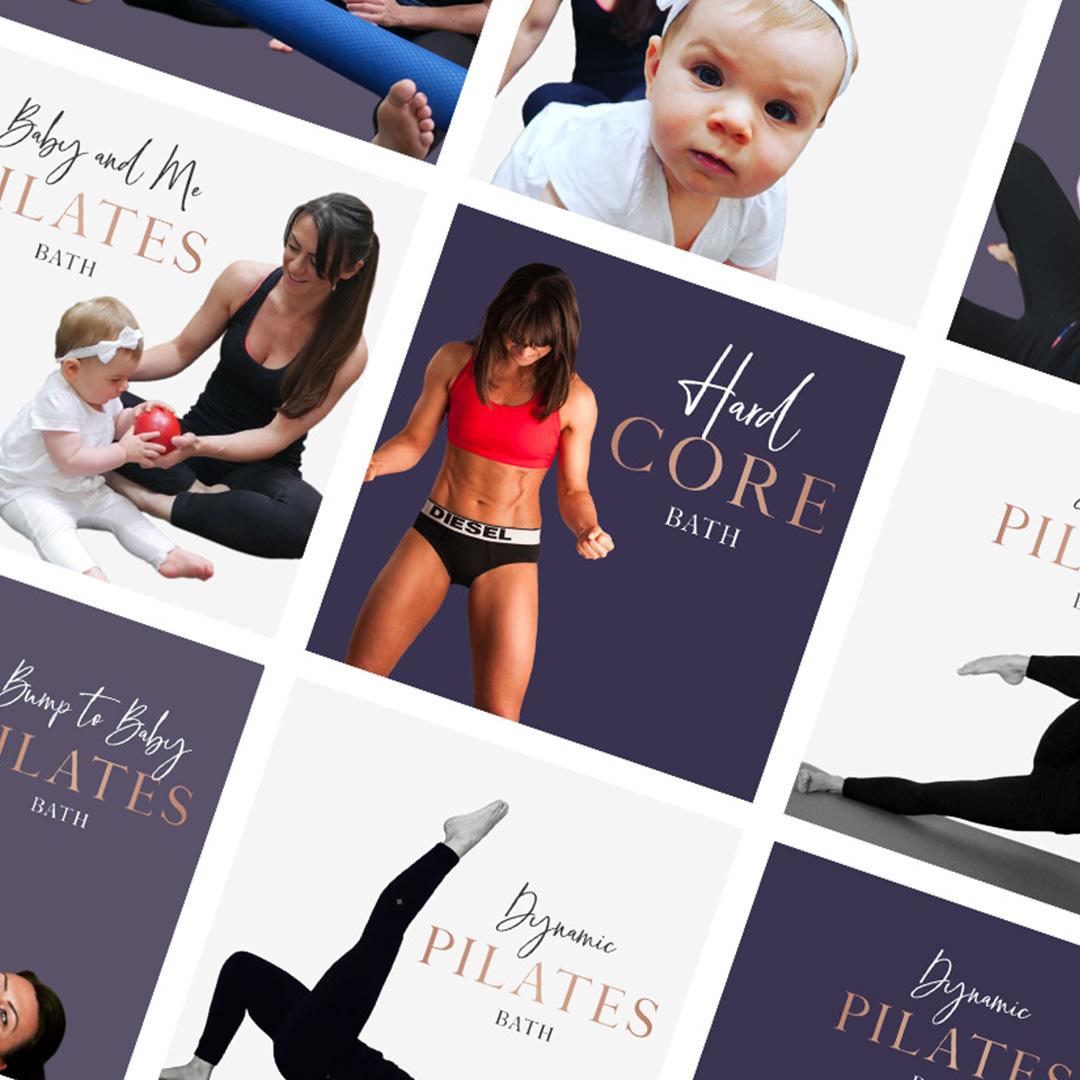 Boutique Pilates Bath social graphics